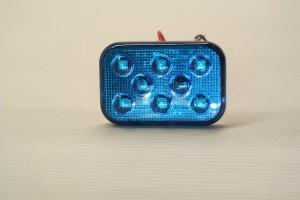Dual Voltage Strobing Blue Light Superslim Self Adhesive