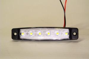 Step Light Marker Light 6 LED White Superslim